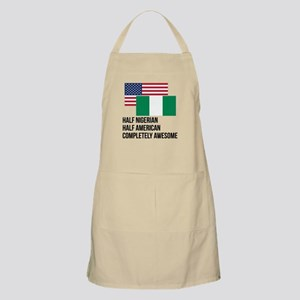 Half Nigerian Completely Awesome Apron