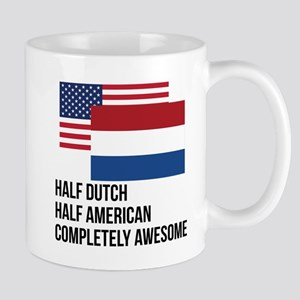 Half Dutch Completely Awesome Mugs