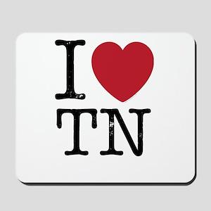 I Love TN Tennessee Mousepad
