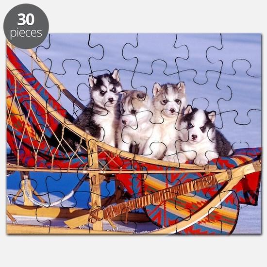 Unique Puppies. Puzzle
