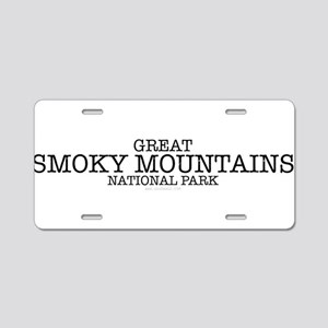 Great Smokey Mountain Natio Aluminum License Plate
