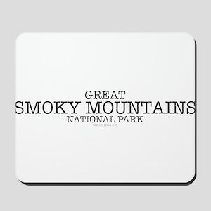 Great Smokey Mountain National Park GSMN Mousepad