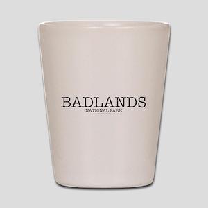 Badlands National Park BNP Shot Glass