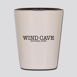 Wind Cave National Park WCNP Shot Glass