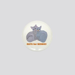 Cats for Bernie! Mini Button
