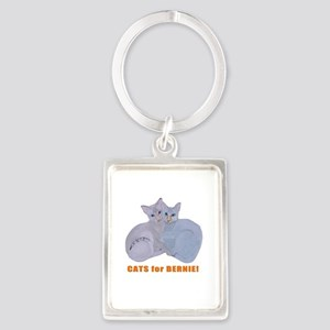 Cats for Bernie! Keychains