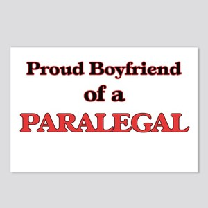 Proud Boyfriend of a Para Postcards (Package of 8)