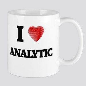 I Love ANALYTIC Mugs