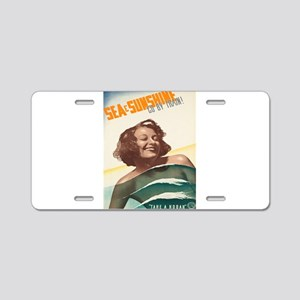 Vintage poster - Kodak Trai Aluminum License Plate