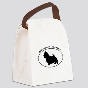 NORWICH TERRIER Canvas Lunch Bag