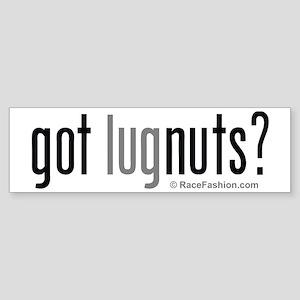 RacFashion.com Got LugNuts? Bumper Sticker