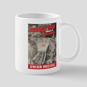 Vintage poster - Boulder Dam Mugs