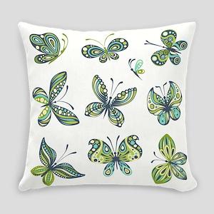 BUTTERFLIES Everyday Pillow