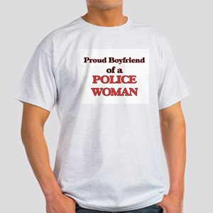 Proud Boyfriend of a Police Woman T-Shirt