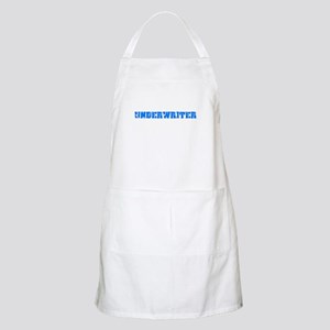 Underwriter Blue Bold Design Light Apron