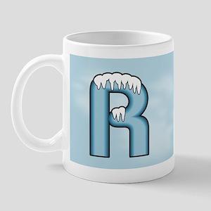 Icy Blue R Mug