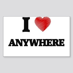 I Love ANYWHERE Sticker