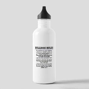 Bulldog Rules Water Bottle