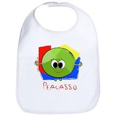 Peacasso Bib