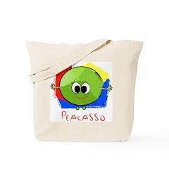 Peacasso Tote Bag