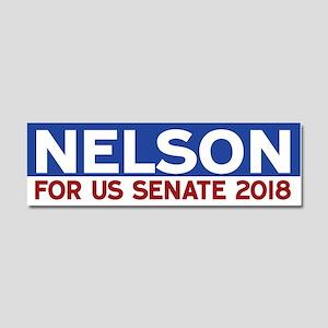 Bill Nelson Car Magnet 10 x 3