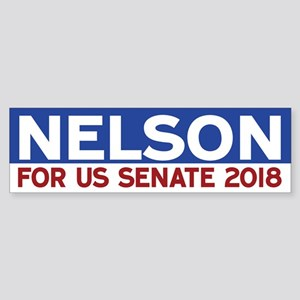 Bill Nelson Bumper Sticker