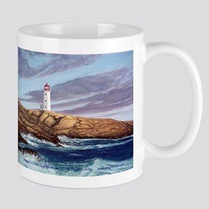Peggy's Cove Lighthouse Large Mugs