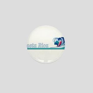 Costa Rica Mini Button