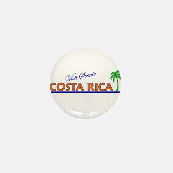 Visit Scenic Costa Rica Mini Button