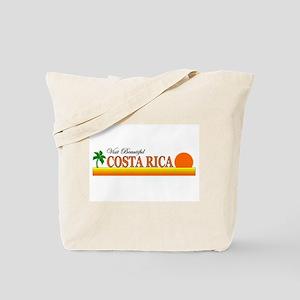 Visit Beautiful Costa Rica Tote Bag