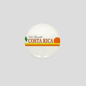 Visit Beautiful Costa Rica Mini Button