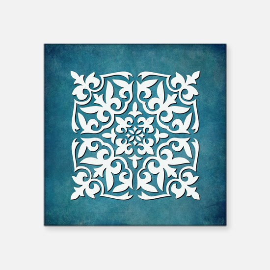 "ELEGANT TILE Square Sticker 3"" x 3"""