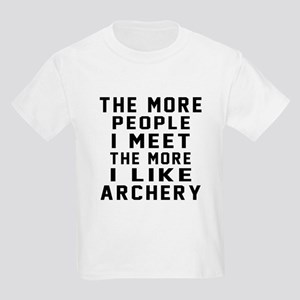 I Like More Archery Kids Light T-Shirt