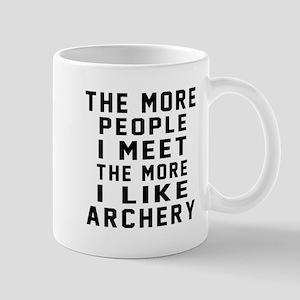 I Like More Archery Mug