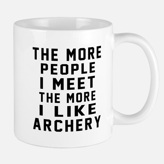 I Like More Archery Mug