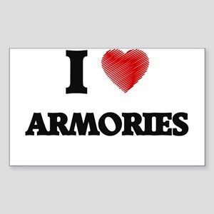 I Love ARMORIES Sticker