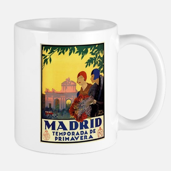 Madrid Temporada de Primavera - Vintage Trave Mugs