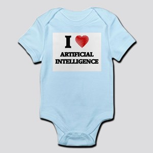 I Love ARTIFICIAL INTELLIGENCE Body Suit