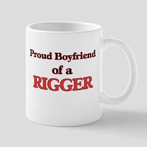 Proud Boyfriend of a Rigger Mugs