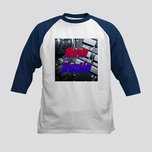 Ham Radio Kids Baseball Jersey