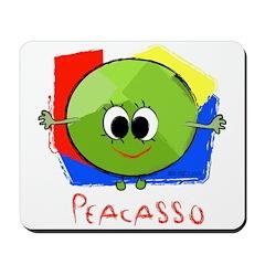 Peacasso Mousepad