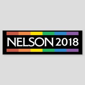 Bill Nelson 2018 Bumper Sticker