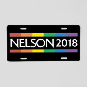 Bill Nelson 2018 Aluminum License Plate