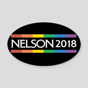 Bill Nelson 2018 Oval Car Magnet