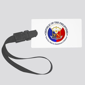 The Philippines (rd) Luggage Tag