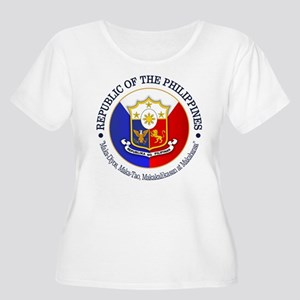 The Philippines (rd) Plus Size T-Shirt