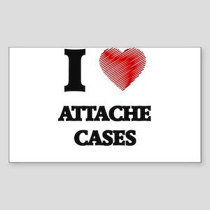 I Love ATTACHE CASES Sticker