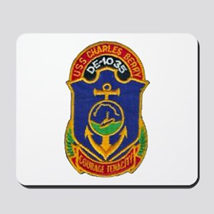 USS CHARLES BERRY Mousepad