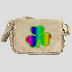rainbowshamrock Messenger Bag