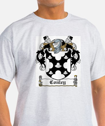 Conley Coat of Arms White T-Shirt